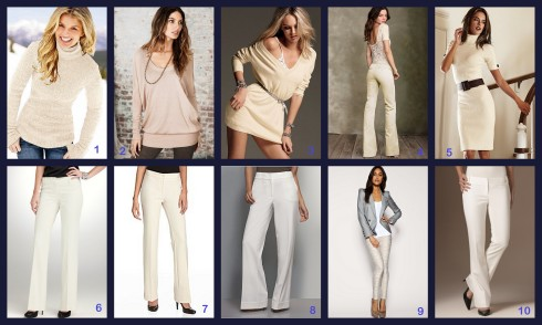 winter white dress pants - Dress Yp